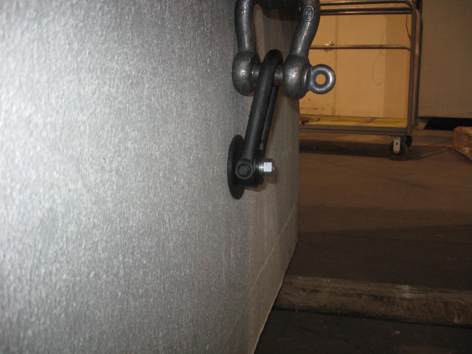 2 500 Lb Single Pick Point For Concrete